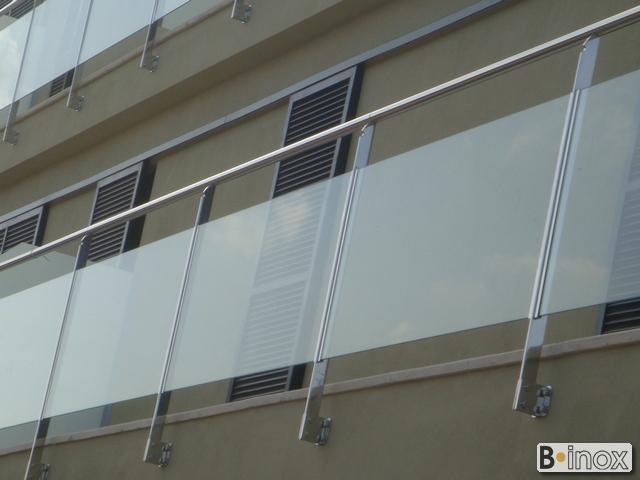 Grupo blamar - Barandillas de cristal para terrazas ...