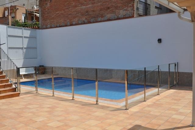 Barandillas de exterior beautiful terrazas exterior - Piscina acero inoxidable precio ...